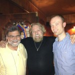 John Stare, VSD Sales Manager and Michael Palguta, Webmaster/ Graphics Coordinator with Grizzly Adams!