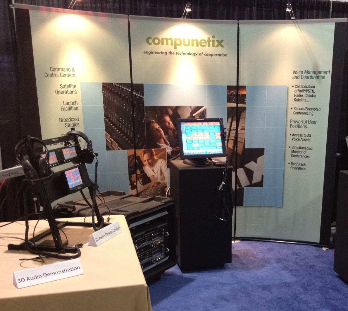 Compunetix FSD Booth from a Previous Show