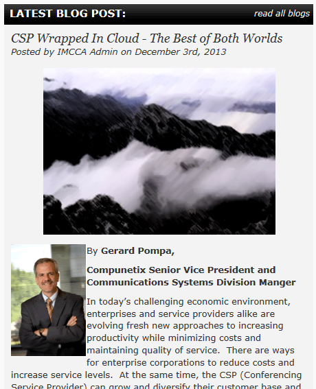 GAP IMCCA Blog Post