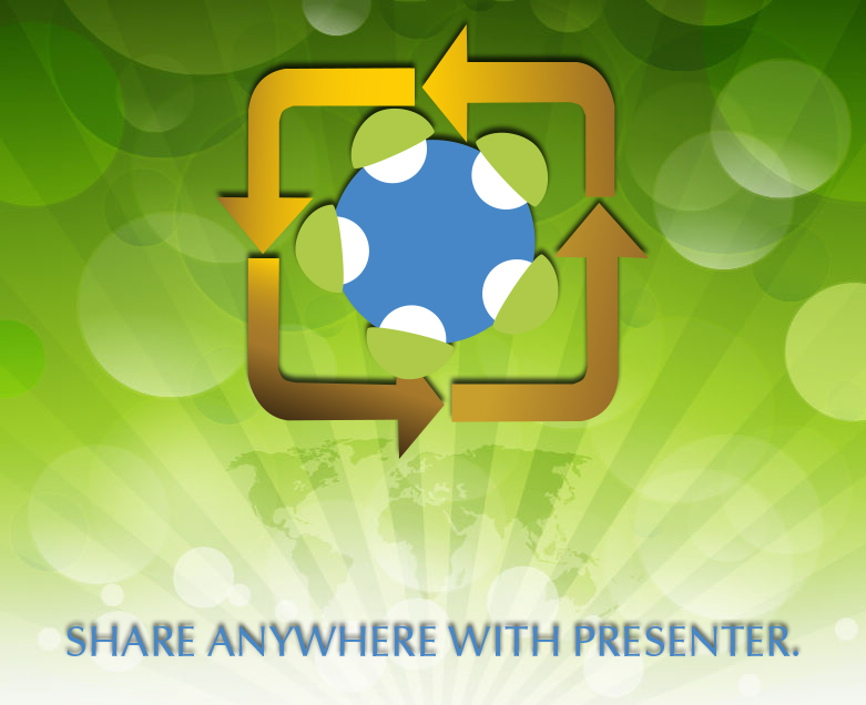 Share with Presenter