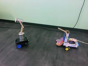 """Jason Tost's """"homemade"""" robots"""