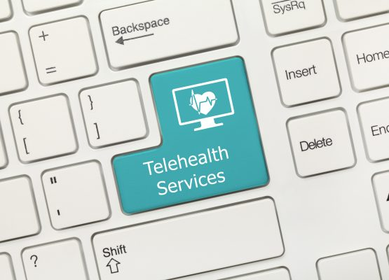 Telehealth Services - Keyboard
