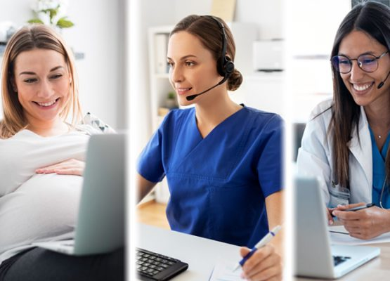 Multi Party Telehealth Video Call