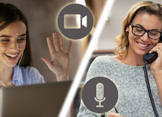 Audio or Video Conferencing